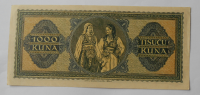 Chorvatsko 1000 Kuna 1943