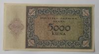 Chorvatsko 5000 Kuna 1943