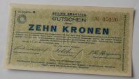 ČSR – Kraslice 10 Koruna nouzovka 1919