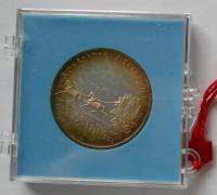 ČSSR 100 Kčs Č. Budějovice-Linz 1982 stav PROOF, originální etue