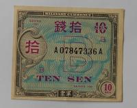 Japonsko 10 Zen okupační