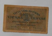 Litva 1 Centas