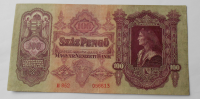 Maďarsko 100 Pengö 1930