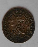 Olomouc-Arcibiskupství 3 Krejcar 1668 Karel II. Liecht.