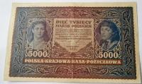 Polsko 5000 Zlotý 1920
