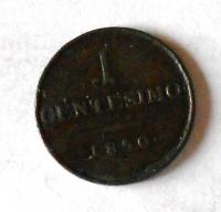 Rakousko 1 Centesimi 1850 M