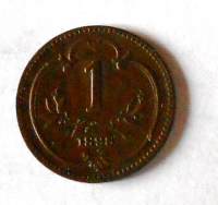 Rakousko 1 Haléř 1898 stav