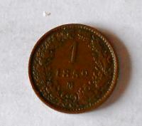 Rakousko 1 Krejcar 1859 M stav