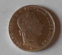 Rakousko 1 Zlatník/Gulden 1858 V