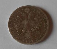 Rakousko 1 Zlatník/Gulden 1859 E