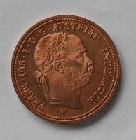 Rakousko 1 Zlatník/Gulden Příbramský 1875 Cu novoražba
