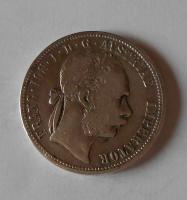 Rakousko 1 Zlatník/Gulden 1882