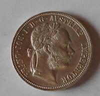Rakousko 1 Zlatník/Gulden 1889