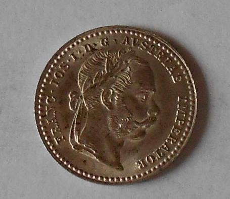 Rakousko 10 Krejcar 1870 A