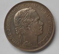 Rakousko 2 Tolar 1857 A Jižní dráha 38,95g KOPIE