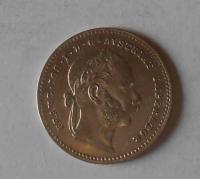Rakousko 20 Krejcar 1868