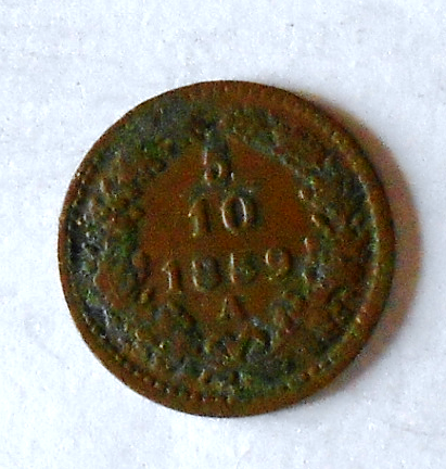 Rakousko 5/10 Krejcar 1859 A
