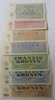 Sada Terezín 1-100Korun