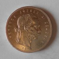 Uhry 1 Zlatník/Gulden 1869 KB