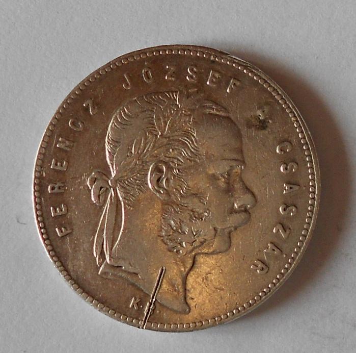 Uhry 1 Zlatník/Gulden 1869 KB měl ouško