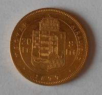 Uhry 8 Zlatník/Gulden 1877 KB