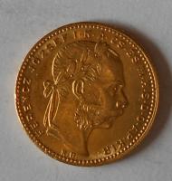 Uhry 8 Zlatník/Gulden 1881 KB