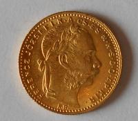 Uhry 8 Zlatník/Gulden 1886 KB