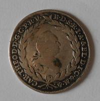Bavorsko 10 Krejcar 1761 Carl Theodor