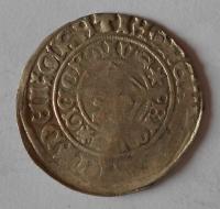 Čechy Pražský groš 1458-91 Jiří z Poděbrad