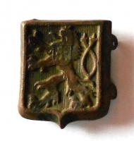 ČSR 1. republika Vojenský čepicový odznak