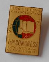 ČSSR Mezinárodní kongres studenstva 1976