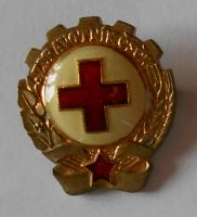 ČSSR Zdravotník ČSČK zlatý