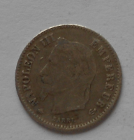 Francie 20 Cent 1867 A Napoleon III.
