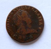 Francie Sol 1720 Ludvík XV.240