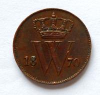 Holandsko 1 Cent 1870