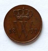 Holandsko 1 Cent 1874