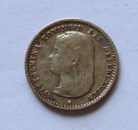 Holandsko 10 Cent 1892