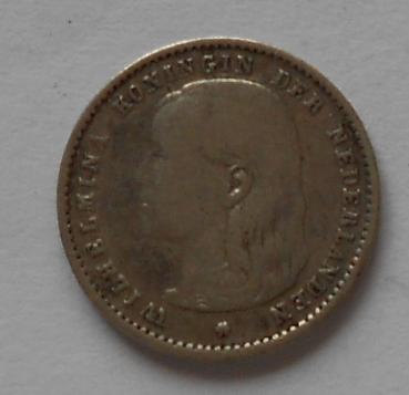 Holandsko 10 Cent 1893