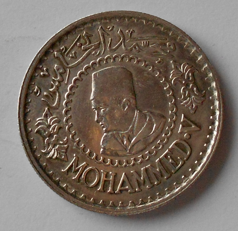 Maroko 500 Frank 1956