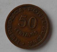 Mozambik 50 Cent 1957