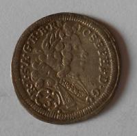 Německo Bavory-Mnichov 3 Krejcar 1710 Josef I.