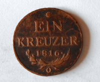 Rakousko 1 Krejcar 1816 František II. O
