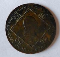 Rakousko 30 Krejcar 1807 František II. A