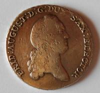 Sasko Tolar 1779 Fridrich August