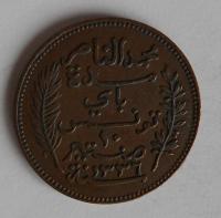 Tunis 10 Cent 1917