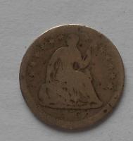 USA 1/2 Dime 1856