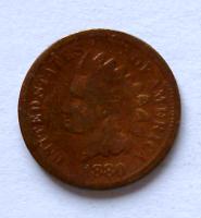 USA 1 Cent 1880