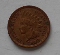 USA 1 Cent 1908