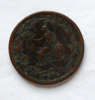 Velká Británie Token Brutus Jiří III.