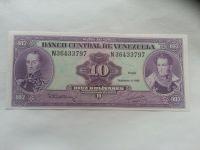 10 Bolivares, 1992, Venezuela